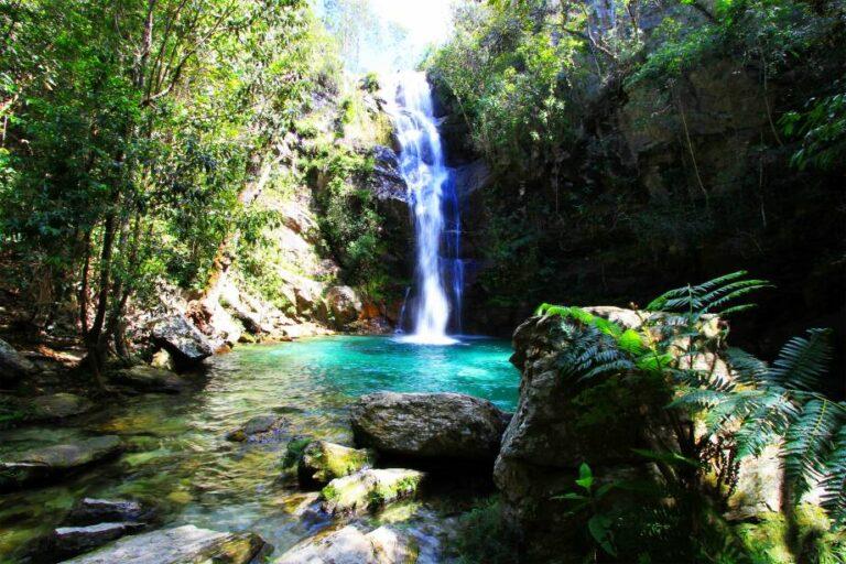 Cachoeira Santa Bárbara – Cavalcante/GO